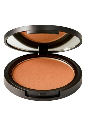 ELLE brown and beige ELLE Makeup Bronzer Compact Deep Bronze 40EC7ES406A98FGS_1