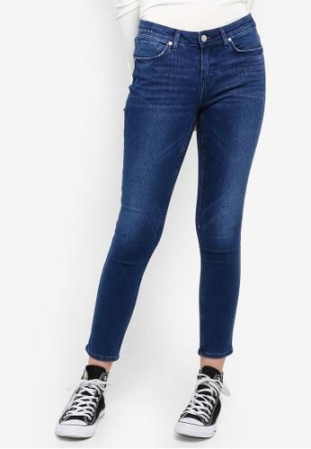 Lee blue 418 Scarlet - Super Slim Cropped Jeans FCC9DAA0CBC308GS_1