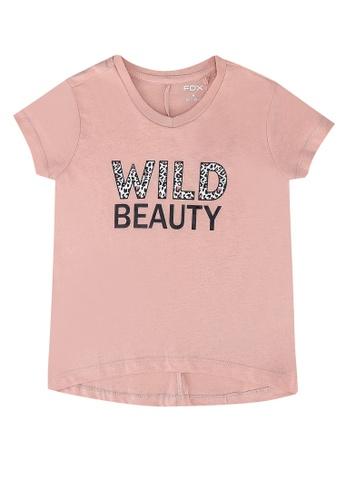 FOX Kids & Baby pink Kids Girls Short Sleeve Tee 5AB74KA33B2EFEGS_1