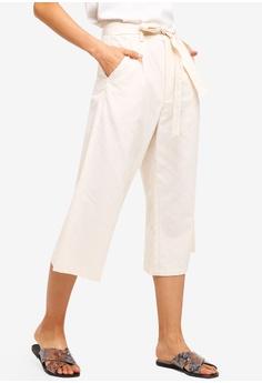 8a37f2b62eb ZALORA beige High Waist Wide Leg Culottes BFC33AA0130FBCGS 1 15% OFF ZALORA  High Waist Wide Leg Culottes RM 105.00 NOW RM 88.90 Sizes XS S M L XL