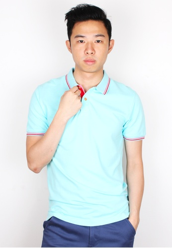 Moley blue Premium Twin Tipped Polo MO329AA09KIOSG_1