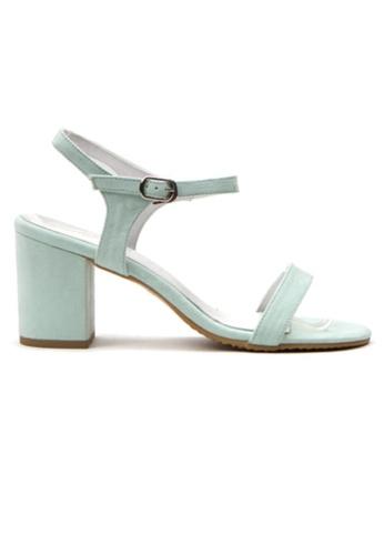 Crystal Korea Fashion multi Korean Fashion Summer Candy Color Thick Sandals 5D941SH9828BA0GS_1
