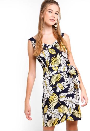 Something Borrowed multi Wrap Tie Mini Dress 02115AAECA7278GS_1