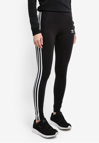 adidas black adidas originals 3 str tight AD372AA0SURPMY_1