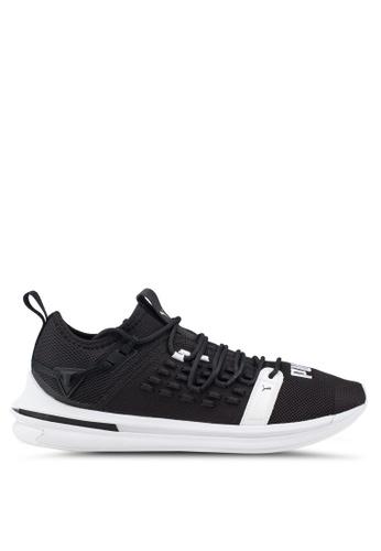 Puma black Ignite Limitless SR Fusefit Running Shoes 72F36SH2A30AF5GS_1