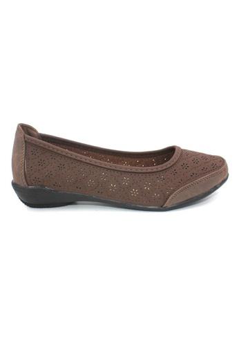 midzone brown Comfortable Women Loafer MI949SH0RPN6MY_1