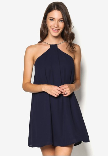 Neckline Detail Swing Dress, 服飾, Minimalist And Pesprit香港分店地址olished