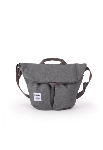 Hellolulu grey Hellolulu Kasen Shoulder Bag (Pebble Gray) 39241ACF6AE8CBGS_1