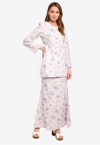 Butik Sireh Pinang pink Baju Kurung Moden Alisa 93366AAD42DEEFGS_1