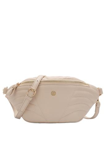 Volkswagen beige Women's Sling Bag / Chest Bag D8B4FACFDA0E4EGS_1