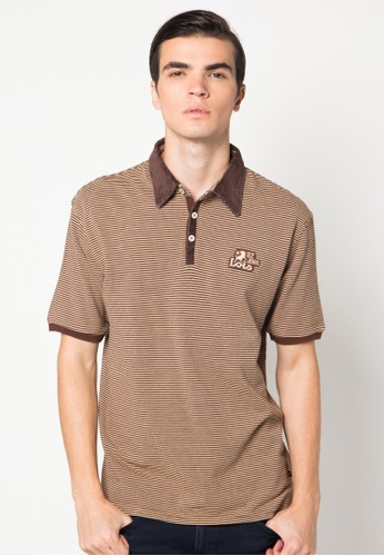 Lacoste Stripes Short Polo Shirt