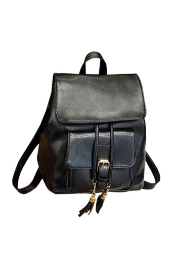 TCWK black TCWK Korea Style Black Ladies Backpack TC258AC0SRTDMY_1