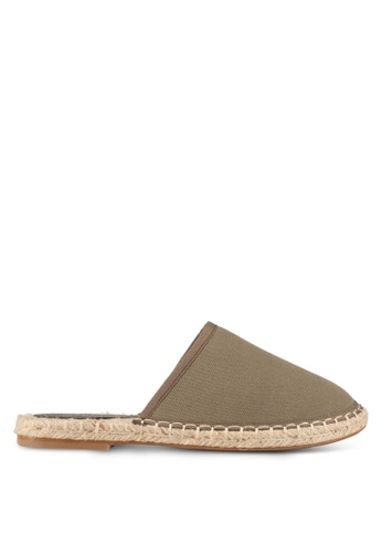 Something Borrowed green Slip On Espadrille 42499SH5454F20GS_1