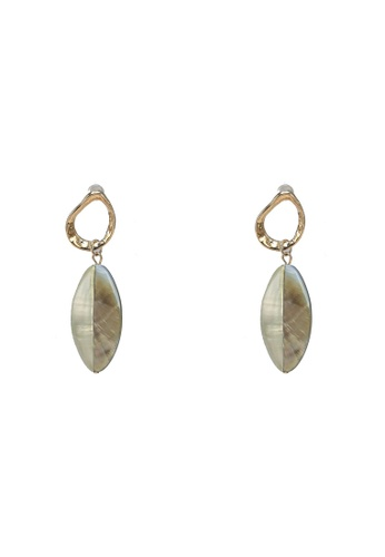 niko and ... grey Drop Earrings 14B8BAC42F8F9BGS_1