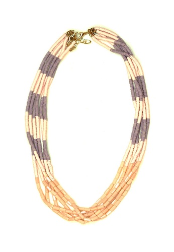 ACEXSPADE pink Syntagma Necklace – Pink 4B688AC5B00D7DGS_1