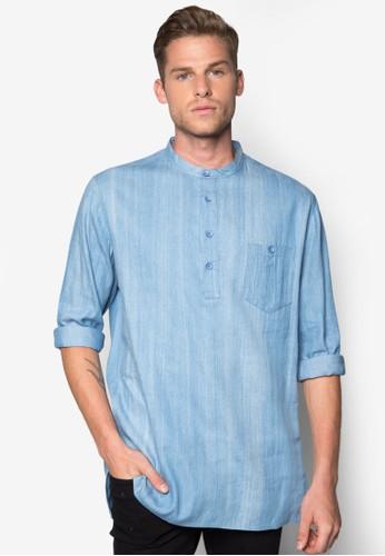 丹寧長版襯衫, 服尖沙咀 esprit飾, 襯衫
