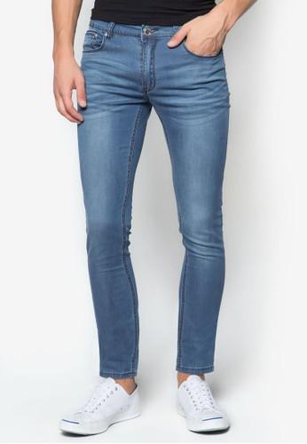 Indie 窄管牛仔褲, 服飾, 牛esprit 台中仔褲