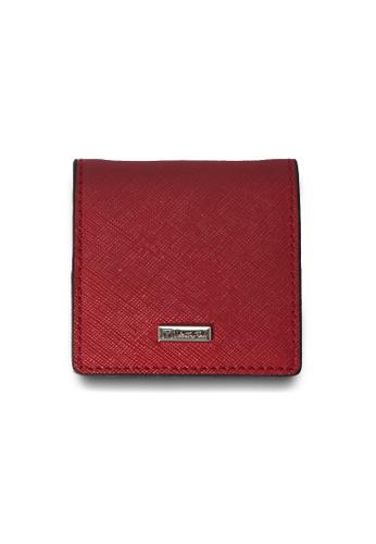 Valentino Rudy red Valentino Rudy Saffiano Leather Coin Pouch VA677AC01TEWSG_1
