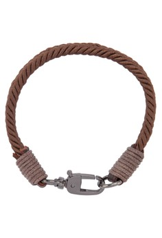 Men's Canvas Wristband With Buckle