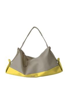 Tied Down Color Blocked Bag