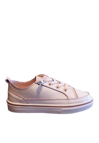 Twenty Eight Shoes pink VANSA Leather Sneakers VSK-T7869L FA61BKS627665EGS_1