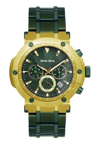 Christ Verra green Christ Verra Men's Watches CV 52283G-1214 GRN 65A7FAC591B22AGS_1
