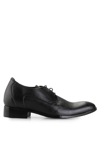 Keeve black Keeve Shoes Peninggi Badan Formal 085- Hitam F473DSHE439EB5GS_1