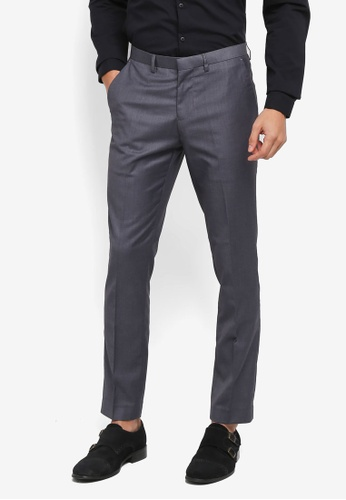 Electro Denim Lab 灰色 Slim Formal Pants 8E5EFAA5B32499GS_1