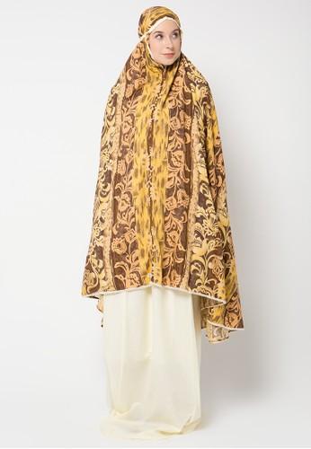 Aira Muslim Butik yellow Cameron Prayer Set AI892AA37OZAID_1