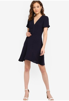 1f89e24a9b6 French Connection Galane Essian Crepe Dress S  225.90. Sizes 6 8 10 12 14