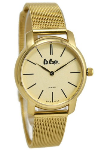 Lee Cooper Watches. Lee Cooper Jam Tangan Wanita Gold Stainless Steel LC-14L-H