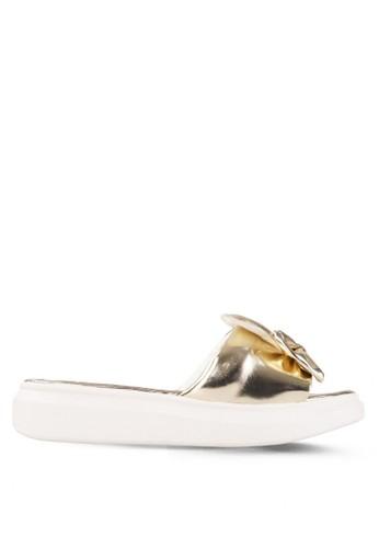 CLARETTE gold Clarette Sandal Keelin - Gold CL076SH32DYLID_1