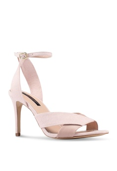 12ba6f5acc3 11% OFF Miss Selfridge Nude Cross Over Heels HK  440.00 NOW HK  392.90  Available in several sizes