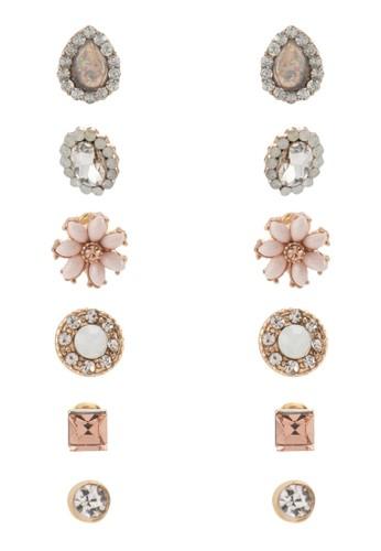 Eesprit台灣owillan 六入耳環, 飾品配件, 飾品配件
