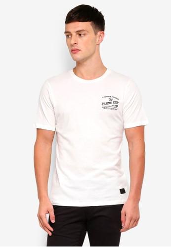 Flesh IMP white Motors T-Shirt 864B0AA241F574GS_1