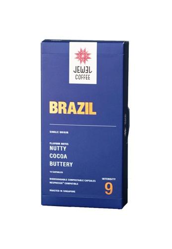 Jewel Coffee blue Jewel Coffee Specialty Coffee Nespresso Capsules - Brazil (Box Of 10) A4BB0ES398AFBEGS_1