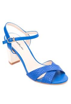Lotus Heel Sandals
