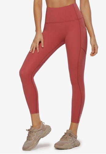 Lorna Jane pink No Ride Ankle Biter Leggings F9FB2AA1E4DF5DGS_1