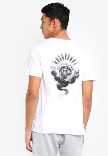 OBEY 白色 短袖印花T恤 CAFC8AAA8730CDGS_1