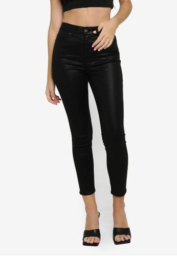 H&M black Skinny High Jeans 954DFAA423BA7BGS_1