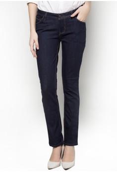 Basic 5 Pocket Straight Cut Jeans