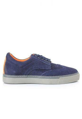Gino Mariani navy Gino Mariani Men's Leather Shoes FRASER - NAVY 46C1ESH0289F2CGS_1