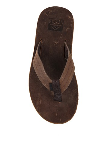 Reef brown REEF VOYAGE LE DARK BROWN RE050SH01QOOID_1