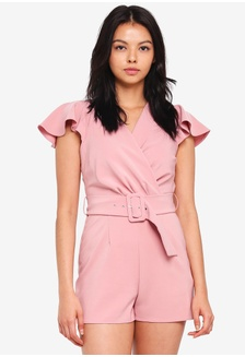 6326a3db2dd Petite Belted Playsuit 6FC48AA8B69690GS 1