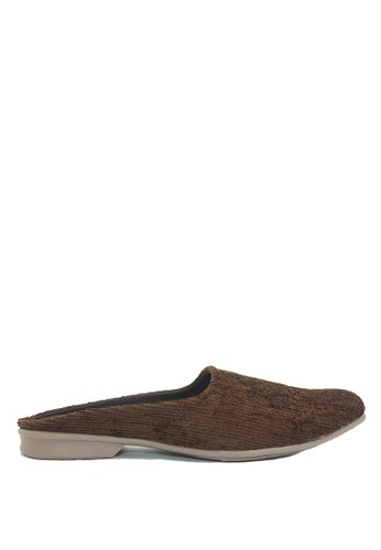 Dr. Kevin brown Dr. Kevin Men Casual Bustong Sandals 1628 - Brown DR982SH0U9E6ID_1