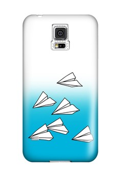Paper Plane Hard Case for Samsung Galaxy S5