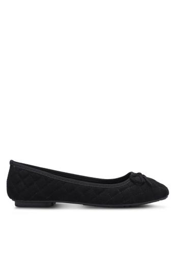 Noveni black Quilted Flats NO978SH0RX2RMY_1