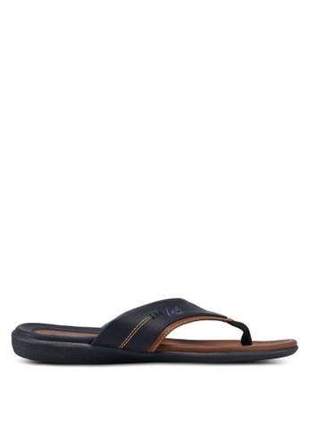 Louis Cuppers navy Paneled Sandals 974C6SH10EA9F5GS_1