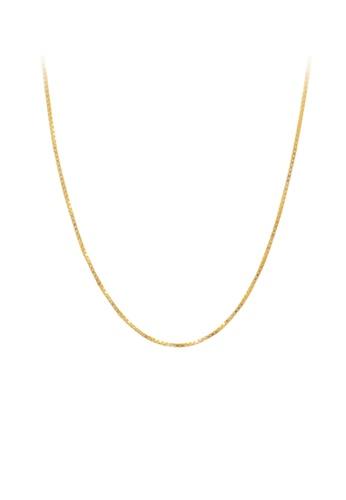 Buy Tomei Chain Tomei Yellow Gold 916 22k 9n Hz12 03 Online Zalora Malaysia