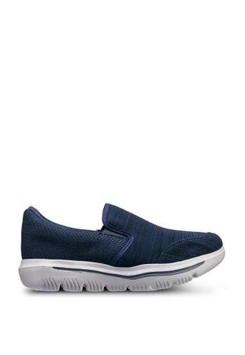 UniqTee blue Lightweight Slip-On Sport Sneakers 6BA76SHAAABEA3GS_1
